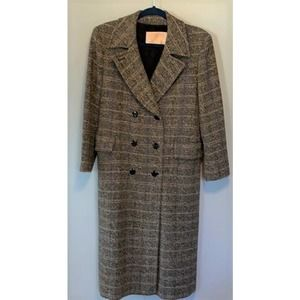 Vintage Pendleton Double Breasted Long Wool Coat
